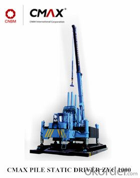 Buy ZYC1000 Used Pile Driver Hydraulic Static Pile Driver