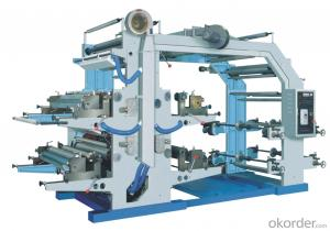 Flexo Printing Machine For Label And Plastic Film Printing