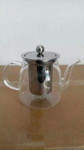 Commercial Heat Resistance Glass Tea Pot 600ml