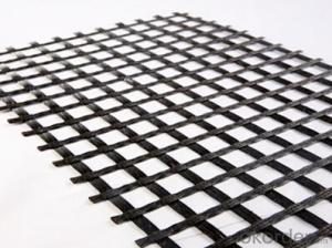 Fiberglass Geogrid for Earth Work Material
