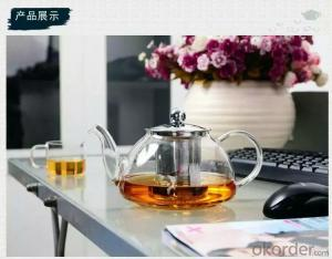 Europe High Resistant Glass Tea Pot