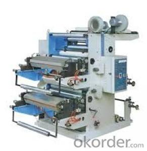 Multifunction Flexo Printing Machine For Any Lable