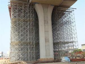 Steel Formwork Scaffolding System with Steel Props