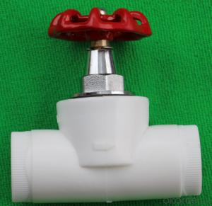 PPR Globe valve and  Construction materials