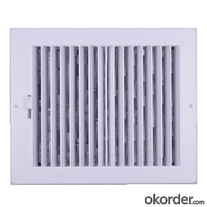 Linear Air Grilles Square Shape for Ceiling use Air Conditioning