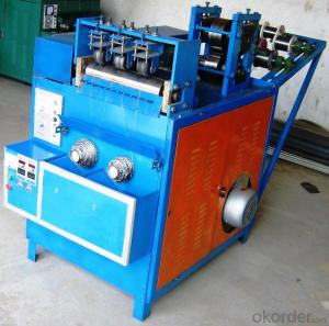 Flat or OblateCleaning Ball Making Machine with 6wire3ball
