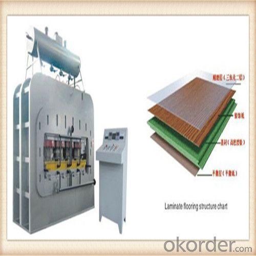 1200t Short Cycle Single Layer Press Machine