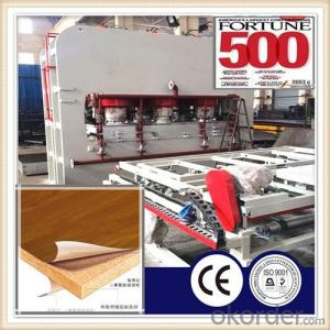 Furniture Particle Board Making Press Machine