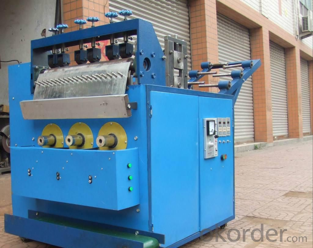 Stainless Steel Scourer Making Machine Factory
