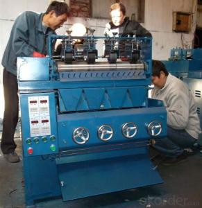 SS Flat Cleaning Ball Making Machine with CiQ CO