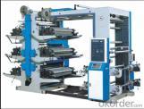 4 Colors High Speed Flexo Printing Machine