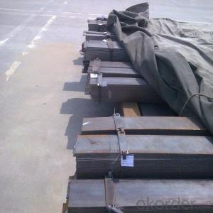 Steels Flat Bar with Material Grade Q235