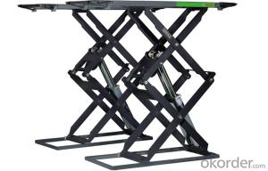 Aligment Car Scissor Lift Hydraulic Machine Auto Scissor Lift CE Approve