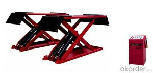 Super Thin Scissor Car Lift  Car Scissor Lift