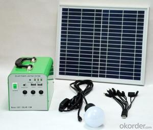 10W Solar System Solar small charge box Solar power generation