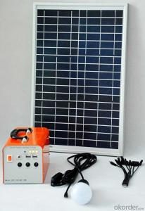 30W Solar power generation system solar system Solar field charging lighting system