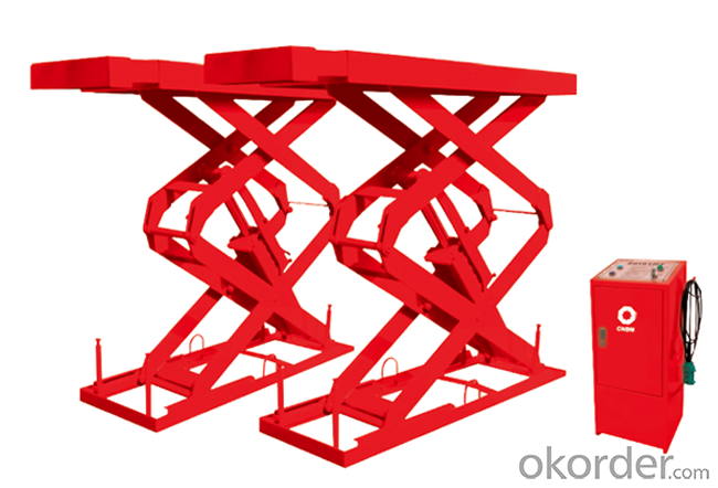 MID-RISE SCISSOR LIFT, Optional Mobile Kit EE-MR30