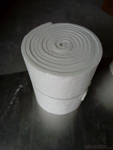 Ceramic Fiber Blanket 1260℃ 1430℃ High Purity Alumina And Silica Oxides By Spun Or Blown Process