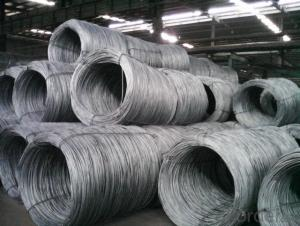 Alloy Steel Wire Rods Hot Rolled Low Carbon