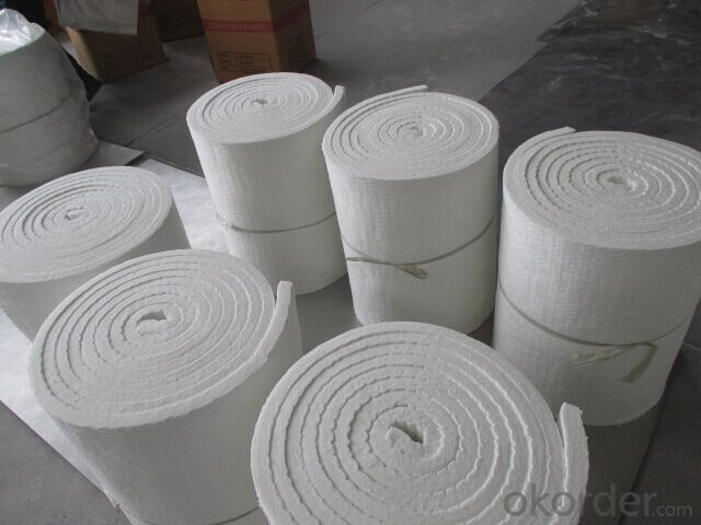 Ceramic Fiber Blanket Double-side Needling With Great Tensile Or Strength For Easy Installation