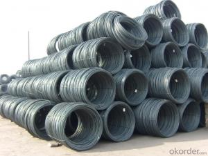 Steel Wire Rods Hot Rolled in Low Carbon
