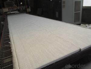 Ceramic Fiber Blanket High Purity Alumina And Silica Oxides By Spun And Needles Process