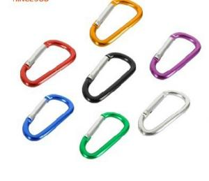 Supply Engraved LOGO Aluminum Carabiner Key Chain