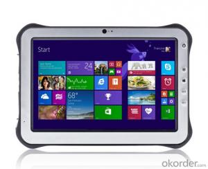 Rugged Windows Tablet PC for Industrial Usage