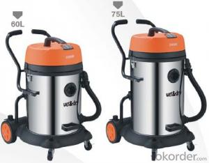 Wet and Dry Vacuum Cleaner Industrial Car Drum Vacuum Cleaner