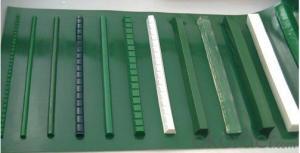 Light Weight PVC PU Conveyor Belt Wood Application