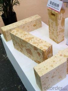 Glass Furnace Acid Resistant Refractory Silica Brick