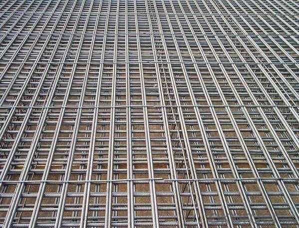 Buy Galvanized Reinforcement Concrete Steel Wire Mesh