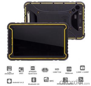 7inch Quad Core Rugged Tablet PC  with Android System  for Industrial Usage