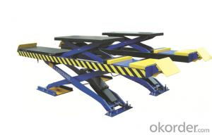 Mobile Mini Scissor Lift for Quick Car Service CE approve