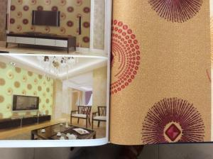 PVC Wallpaper Cheap Price Modern Design Wallpaper for Home with CE and ISO Certificate