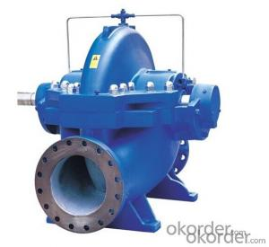 High Flowrate Split Casing Centrifugal Water Pump for Irrigation