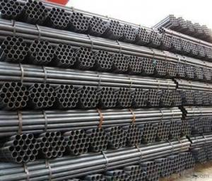 Welded Black ERW Pipe BS Standard for Water Gas Oil