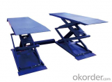 Scissor Lift Automoitve Service Equipment