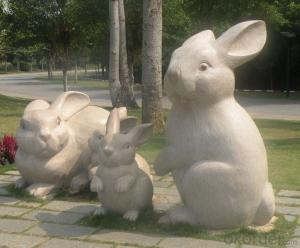 Animal Handcrafted Sculpture by Natural Stone