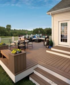 Wood Plastic Composite Outdoor Floor Deck 135*27/RMD-59