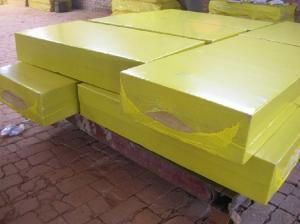 Rock wool / mineral wool thermal insulation board for Heat Insulation Materials