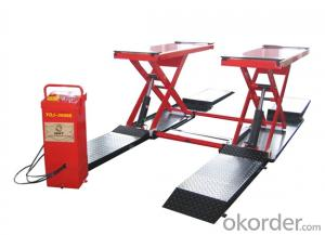 W-35DL (special for 3D wheel aligner) Big Scissor Lift