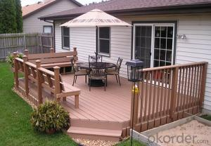 Composit Outdoor Decking /Plastic Decking/Environmantally