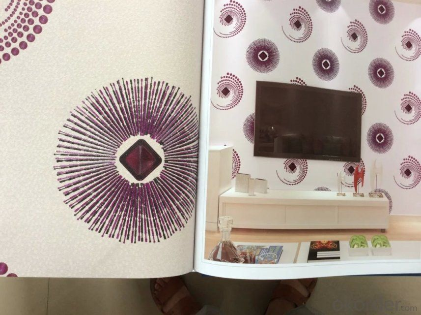 Buy Pvc Wallpaper Fashion Modern Design Beautiful Pattern Decorative Washable Wallpaper For Kitchen Price Size Weight Model Width Okorder Com