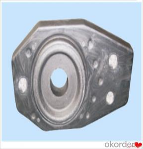 Slide Plate and Nozzle Refractory Slide Gate Plate for Steel Casting Erosion Resistance