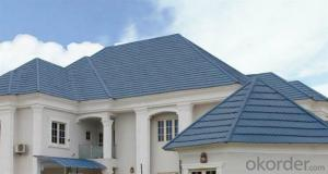 Thermal Insulation Stone Coated Roofing Tiles
