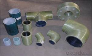 Hot Spring Pipe High Pressure GRE Pipes and Fittings Equal Tee