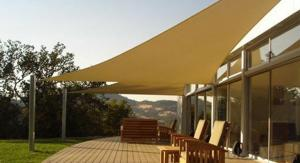 Shade Sail Blue   Beige Color  For South American Market