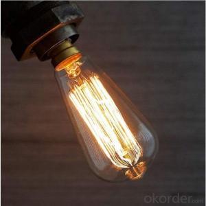 ST64 Retro Edison Bulbs Lights Dimmable E27 E26 120V UL