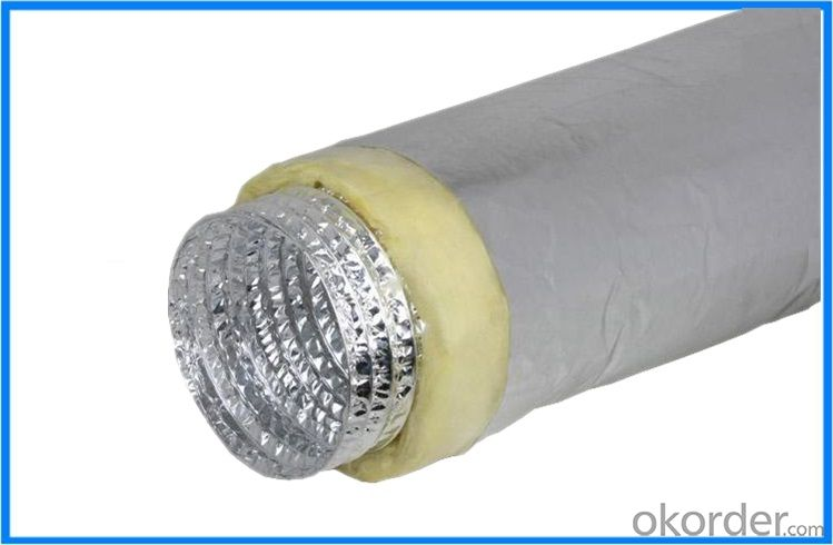 Insulated Aluminum Exhaust Flexible Duct for Vetilation